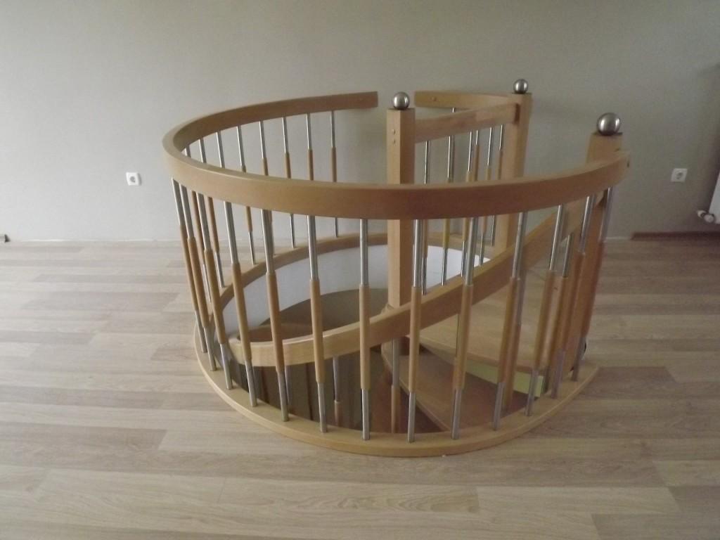 Döner Merdiven Modeli
