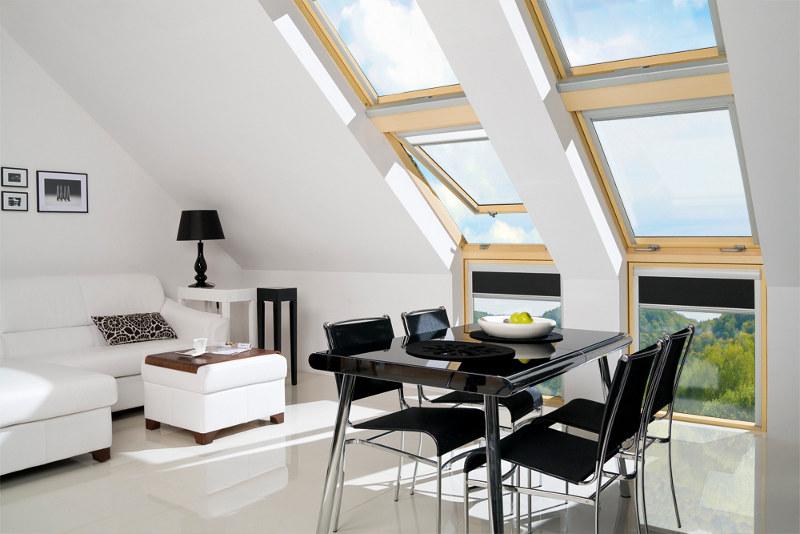 L Kombinasyon Fakro Çatı Penceresi