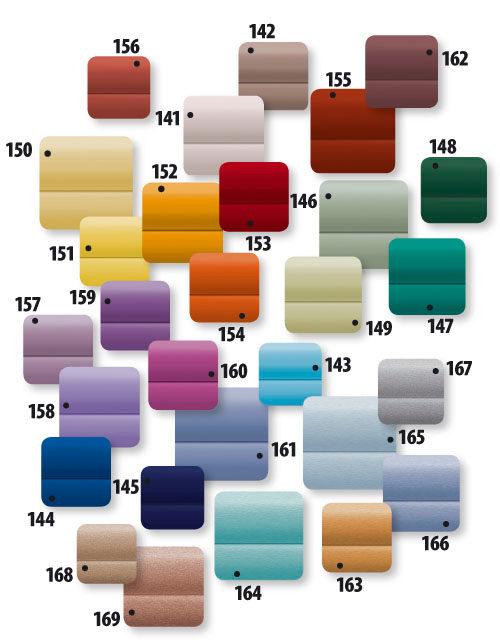Fakro Çatı Pencere Stor Jaluzi Renk kartelası