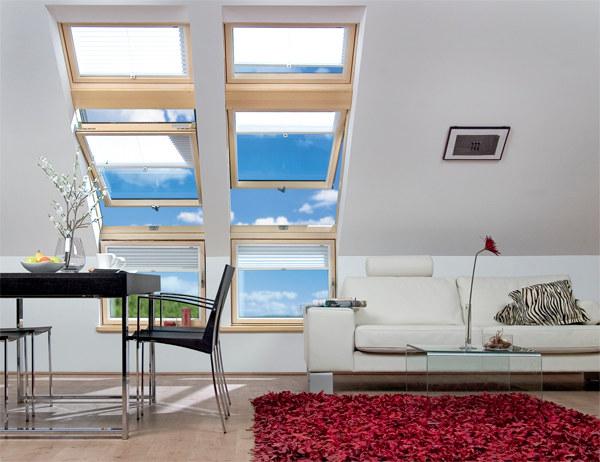 L Kombinasyon Fakro Çatı Pencere Modelleri