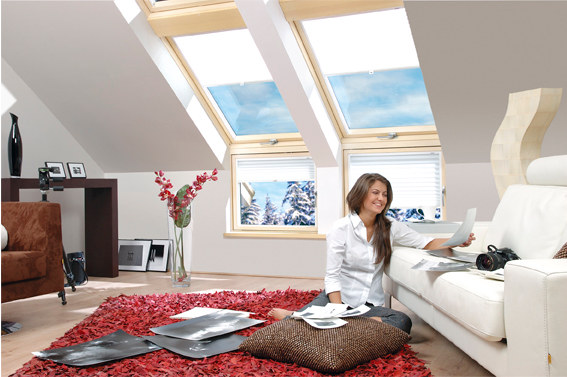 L Kombinasyon Fakro Çatı Pencere Resmi