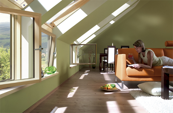 L Kombinasyon Fakro Çatı Pencereleri